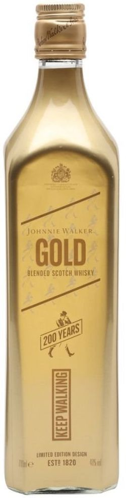 Johnnie Walker Gold Label Reserve Keep Walking 0,7l 40% L.E.