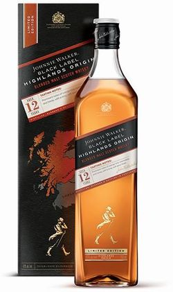 Johnnie Walker Black Label Highlands Origin 12y 1l 42%