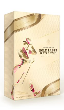 Johnnie Walker Gold Label Reserve 0,7l 40% + 2x sklo GB