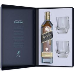 Johnnie Walker Blue Label 60y 0,7l 40% + 2x sklo GB