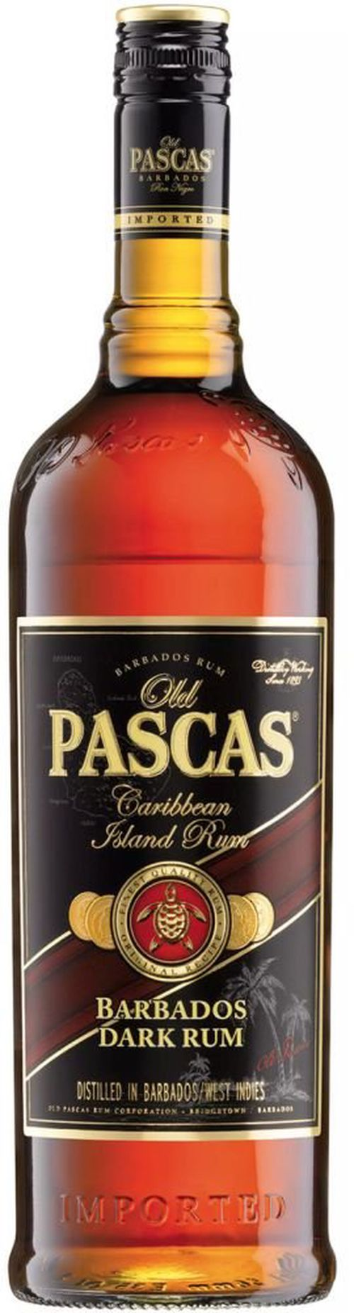 Old Pascas Dark 1l 37,5%